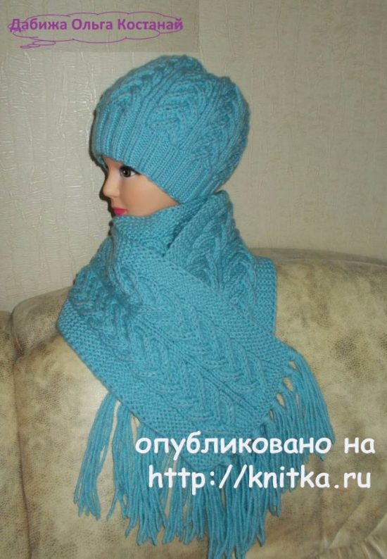 Hat and scarf knitting needles. Olgas Works